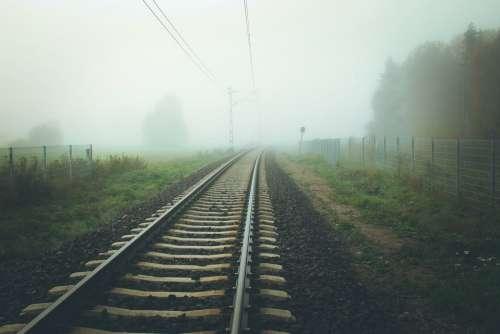 Rails Train Transport Trip Rail Locomotive
