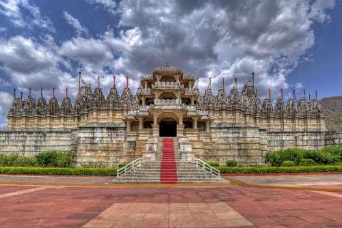 Ranakpur Jain Temple Rajasthan India Heritage