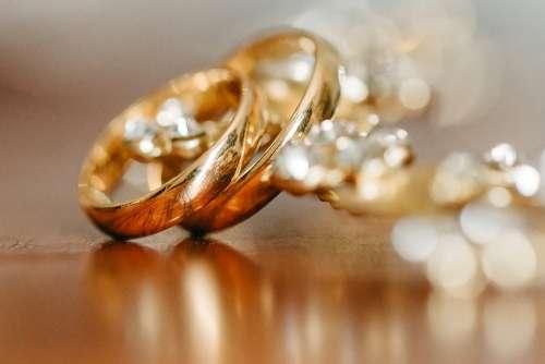 Ring Couple Wedding Love Engagement Proposal