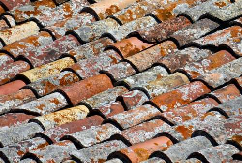 Roof Brick Tile House Housetop Roofing Tiles