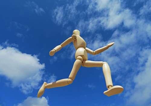 Running Freedom Sky Run Motivation Pursue