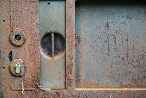 Rust Industry Goal Door Decay Texture Metal