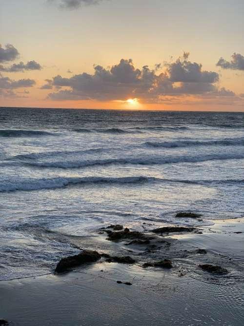 San Diego Pacific Beach California Ocean Coast