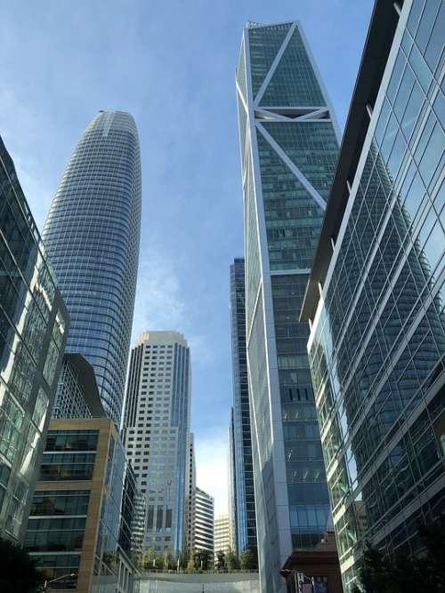 San Francisco Downtown Urban Cityscape Building