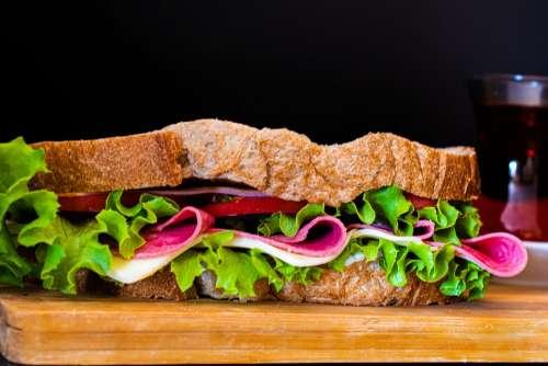 Sandwich Food Lunch Breakfast Bread Cheese Eat