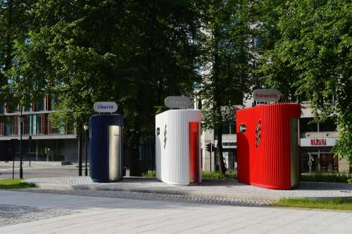 Scandinavia Norway Oslo Public Toilets Liberte