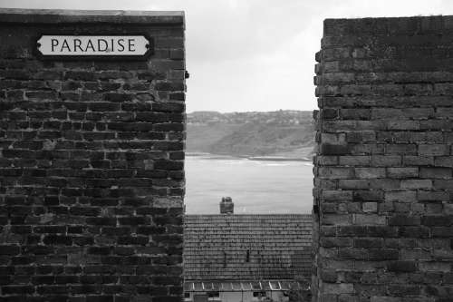 Scarborough Paradise Blackandwhite B W Coast