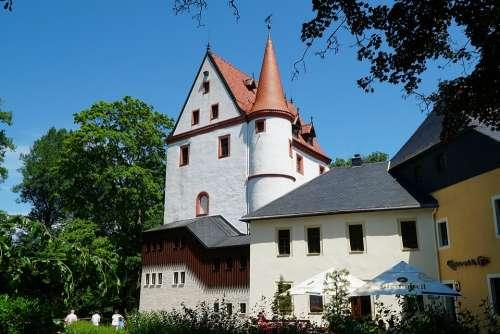 Schlettau Castle Ore Mountains Castle Park