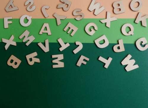 Scrabble Play Letters School Quiz Words Puzzle