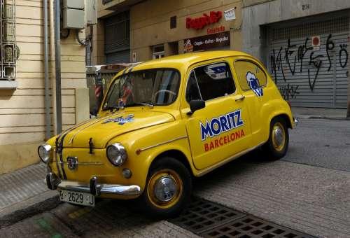 Seat Six Hundred Car Barcelona
