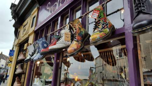 Shoes Colorful Business Music Fashion Color