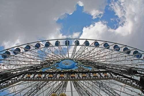Sinksenfoor Funfair Ferris Wheel Fun Gondolas