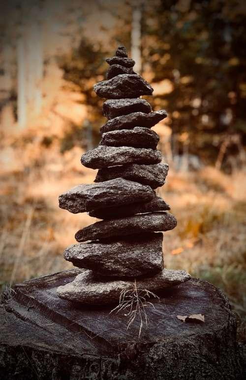 Slovenia Stone Sculpture Figure Hope Spiritual