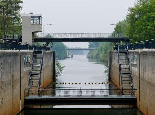 Sluis Water River Landscape Structure Bridge