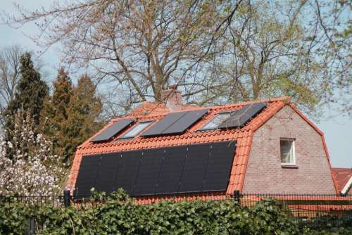 Solar Panel House Durable Solar Panels Roofing