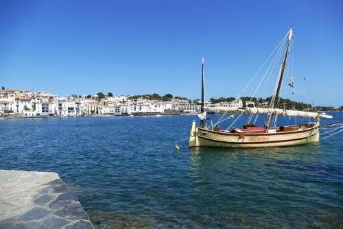 Spain Costa Brava Cadaqués Mediterranean Tourism