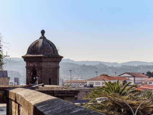 Spanish Road Old Galicia Ancient Defense
