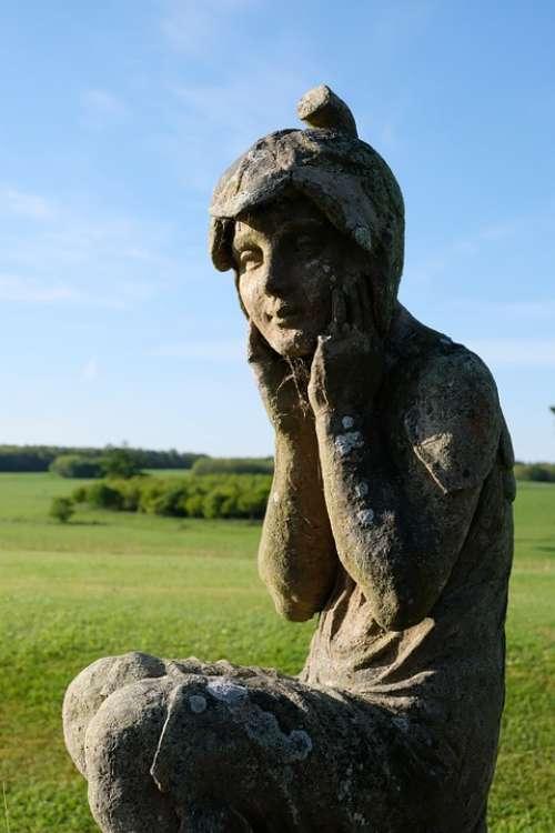 Statue Garden Figure Sculpture