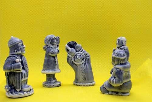 Statuette Netsuke Toy Sculpture Collection