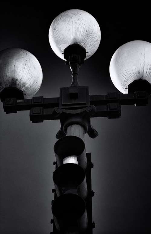 Street Lamp Stoplight Traffic Safety Guidance