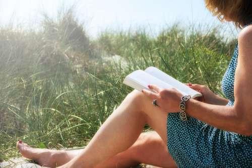 Stress-Free Dune Grass Book Read Sun Coast