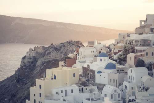 Sunset Santorini Greece Greek Islands Travel