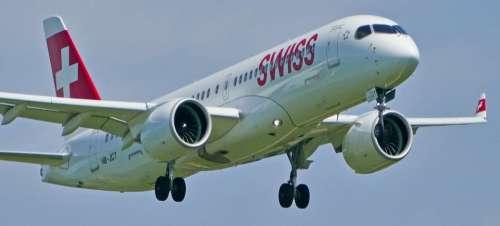Switzerland Zurich Balls Airbus A-220-300 Hb-Jct