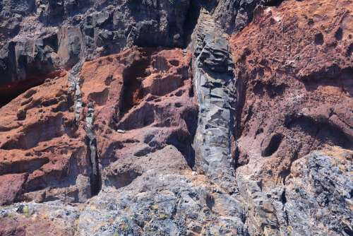 Tenerife Volcanic Volcanic Rock Mountain