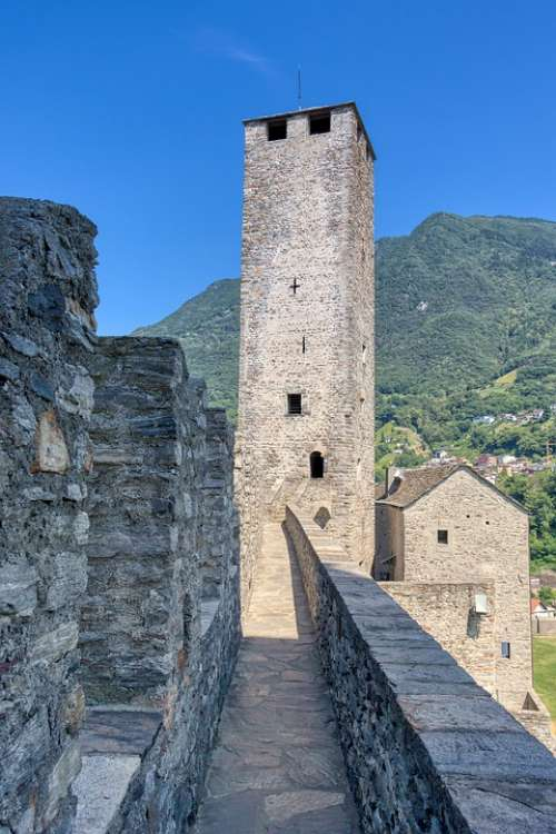 Torre Castle Architecture Fortress Middle Ages