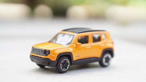 Toy Jeep Yellow Hobby Car Park