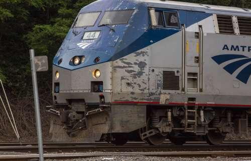 Trains Amtrak Railroad Transportation Locomotive