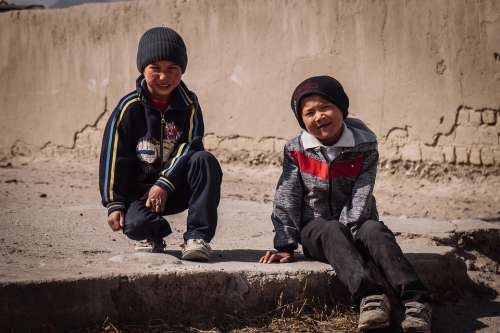 Travel Children Kyrgyzstan People Tourist Holiday