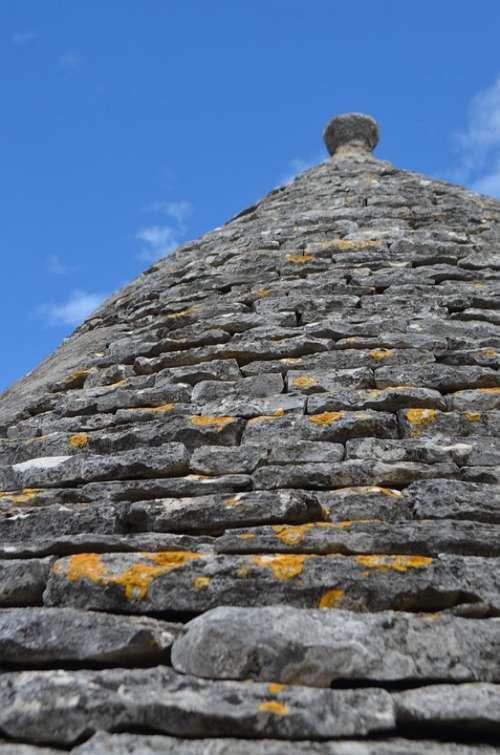 Trullo Trulli Italy Alberobello Stones