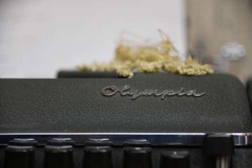 Typewriter Office Old Vintage Machine Retro