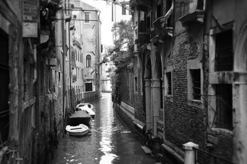 Venice Canal Italy Water City Romantic Old