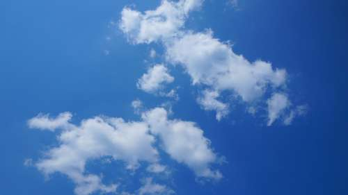 View Nature Sky Blue Peace Of Mind Clouds