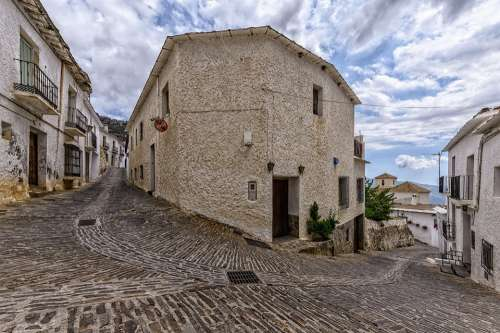 Village Andalusia Spain Architecture Building