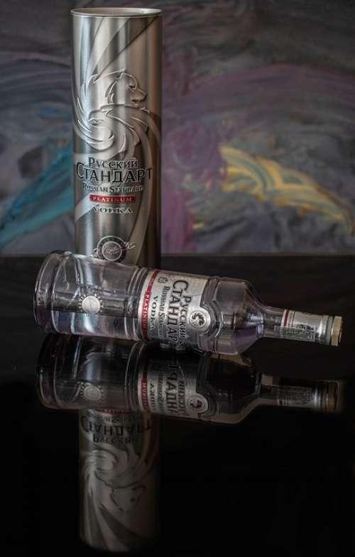 Vodka Beverage Alcohol Bar Drink Liquid