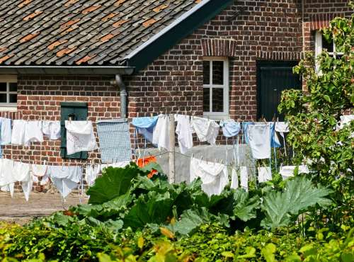 Was Clothesline Farm Wash Clothing Hang Dry