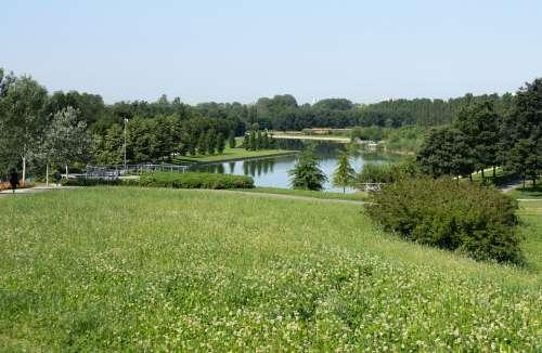 Water Lake Reflection Nature Landscape Calm