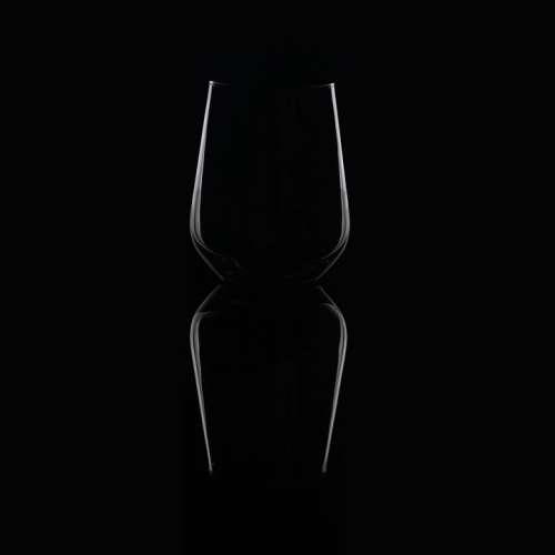 Water Glass Glass Reflections Reflection Dark