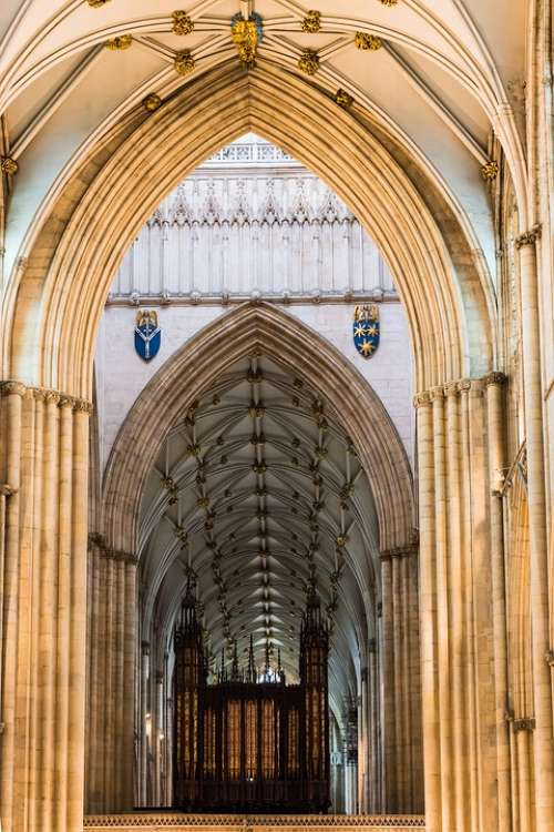 York Yorkshire England Cathedral Famous Historical