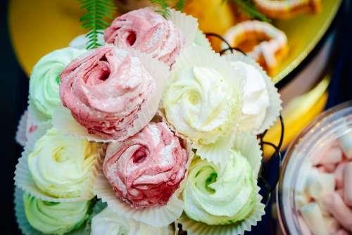 Zephyr Cream Cake Dessert Home Cozy Fruit Candy