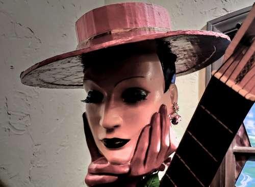 Vintage Woman Figure