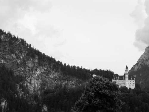 Neuschwanstein Castle Bavaria Germany architecture landscape