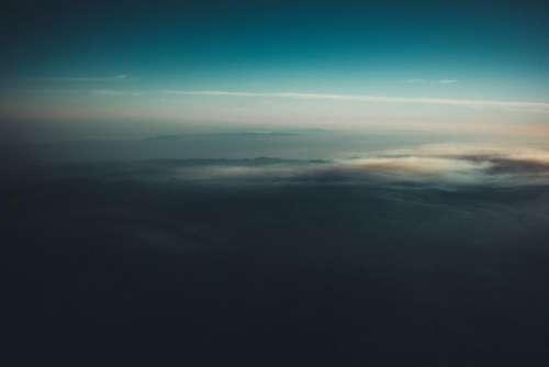 aerial view travel trip sky