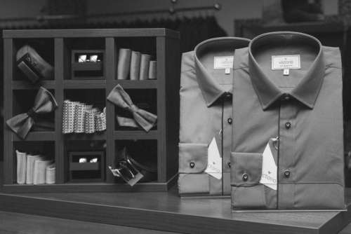 shirts collared ties bowties cufflinks