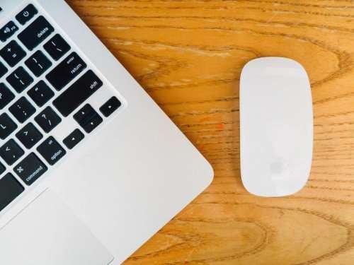 macbook laptop computer mouse technology