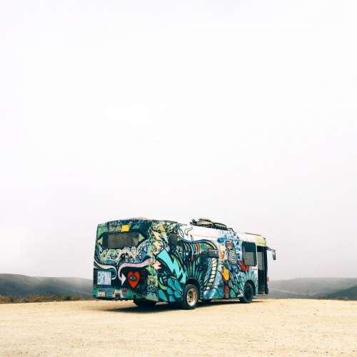 bus vehicle tranportation travel adventure
