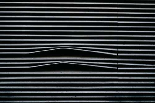 blinds line window white black